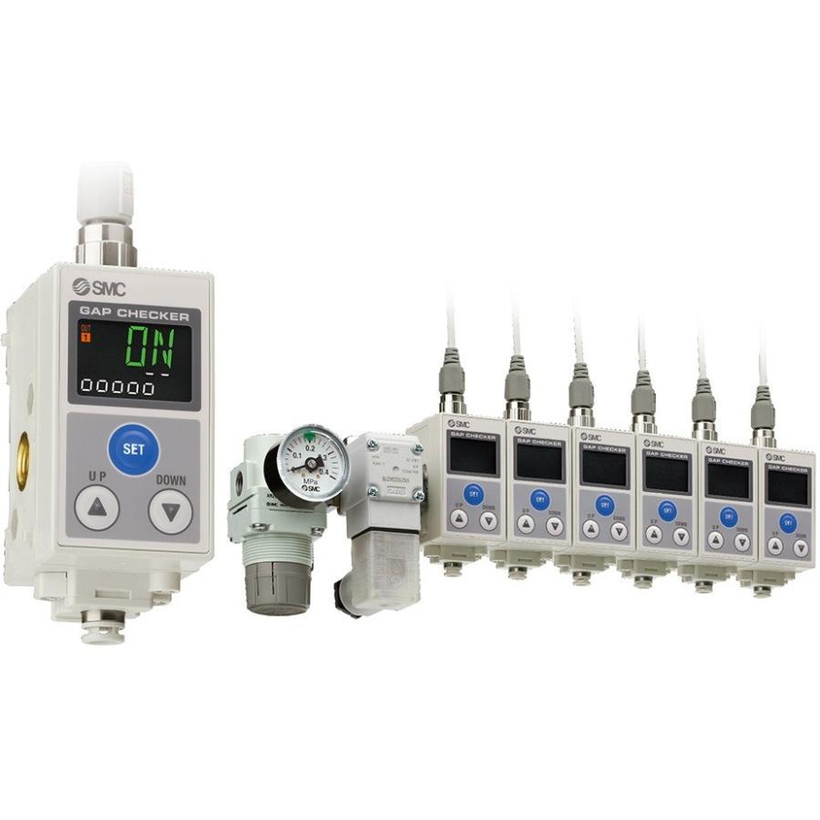 SMC ISA3-HFP-2NB 3色表示デジタル着座スイッチ 定格距離範囲:0.05〜0.30mm