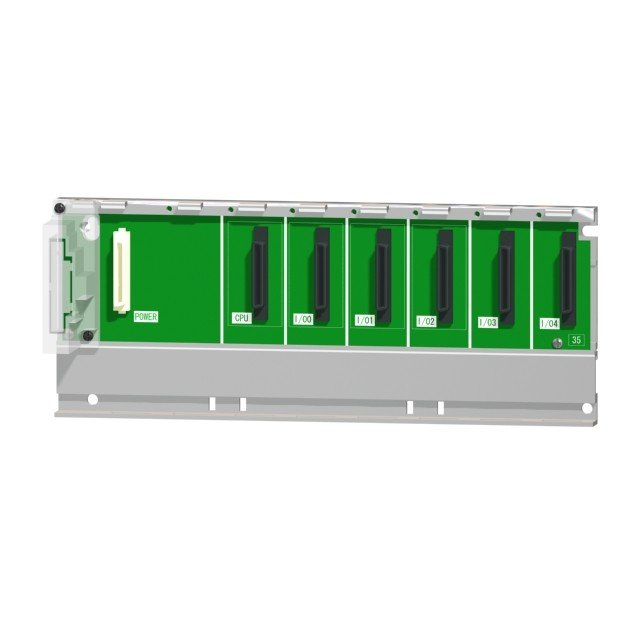 三菱電機 Q35B 基本ベースユニット シーケンサ MELSEC-Qシリーズ 5スロット