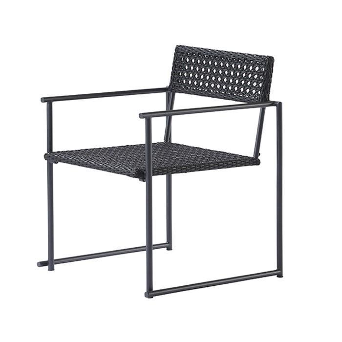 ガーデンチェア 人工ラタン 屋外用 ガーデンファニチャー パティオプティ MA-チェア W560×D570×H780×SH430mm 完成品 チェアー 1脚 テーブルは別売り