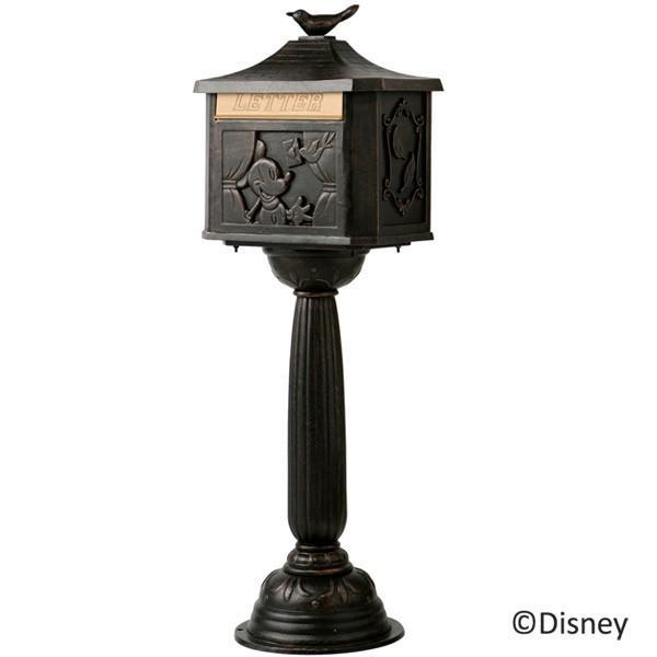 ポスト 郵便受け スタンドタイプ 郵便ポスト デザインポスト メイルボックス ミッキー 鳥の郵便屋さん