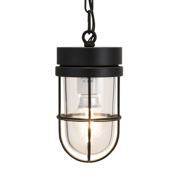 屋外照明 玄関 照明 軒下 外灯 屋外対応 LED マリンランプ マリンライト ペンダントライトP6000 BK CL LE ブラック ガーデンライト真鍮製 照明器具