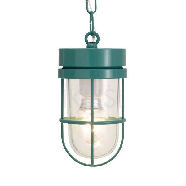 屋外照明 玄関 照明 軒下 外灯 屋外対応 LED マリンランプ マリンライト ペンダントライトP6000 MG CL LE メイグリーン ガーデンライト真鍮製 照明器具