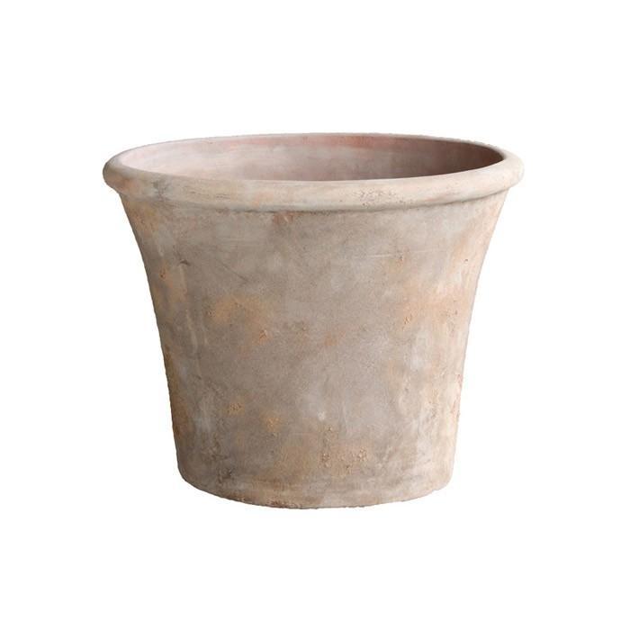 プランター 植木鉢 テラコッタ アンティーク調ポット テラアストラ アダーラ 62×48cm