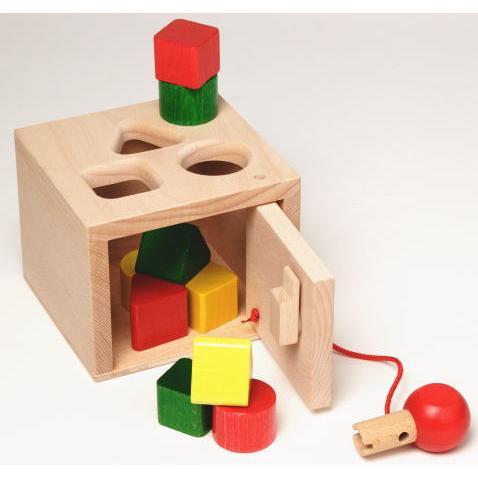 キーボックス 木のおもちゃ 積木 積み木 つみき ブロック 型はめ 知育 玩具 出産御祝 誕生日 クリスマス プレゼント
