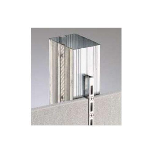 ロイヤル 待望 棚柱 チャンネルサポート 人気海外一番 シングル ホワイト 1820mm ASF-1
