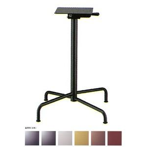 テーブル脚 アポロS2600(スタッキング収納式) ベース425x425 パイプ50.8φ 受座240x240 基準色塗装 AJ付 高さ700mmまで【※代引不可商品です】