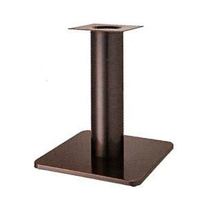 テーブル脚 スカイS7520 ベース520x520 パイプ76.3φ パイプ76.3φ 受座240x240 ジービーメッキ AJ付 高さ700mmまで【※代引不可商品です】