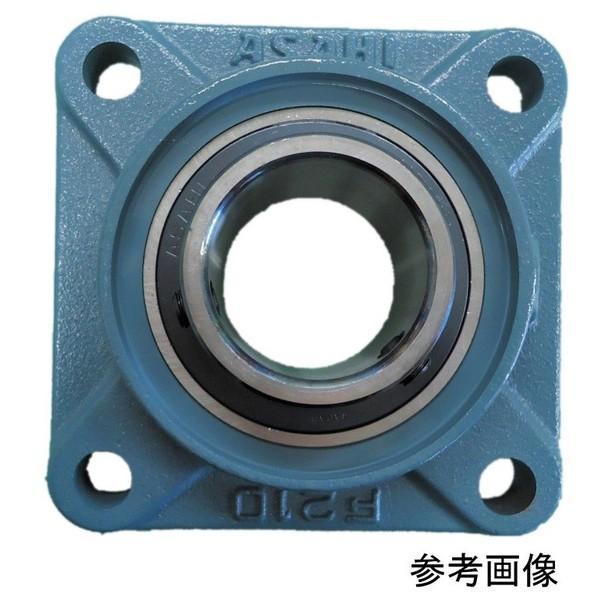 旭精工 角フランジ形ユニット CUCF217CE 鋳鉄製軸端カバー付