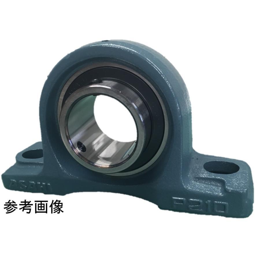 旭精工 ピロー形ユニット ピロー形ユニット ピロー形ユニット CUCP319C 鋳鉄製貫通カバー付 c47