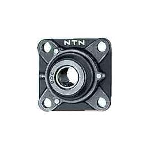 NTN UCFS318D1 ベアリング ユニット(円筒穴形、止メネジ式) 軸径90mm 内輪径90mm 全長280mm