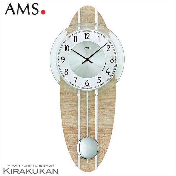 壁掛け時計 AMS(アームス社ドイツ製) AMS-7420