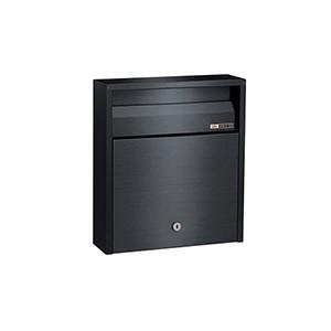 メーカー直送 HSK ポスト 戸建用 ステンレス ポスト シリンダー錠 薄型 [680-USB] ハッピー金属