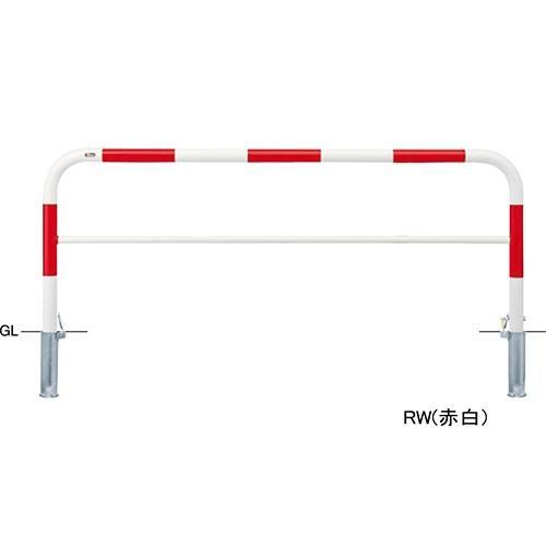 メーカー直送 サンポール アーチ φ60.5(t2.8)×W2000×H800mm カラー:赤白 [FAH-7SK20-800(RW)] [FAH-7SK20-800(RW)] [FAH-7SK20-800(RW)] 597