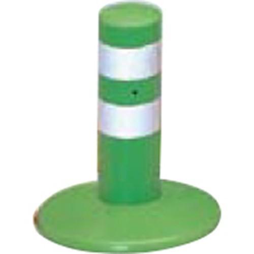 メーカー直送 サンポール ガードコーン φ60,台座径φ175×H200mm φ60,台座径φ175×H200mm φ60,台座径φ175×H200mm カラー:グリーン [RBMH-20(G)] 73a