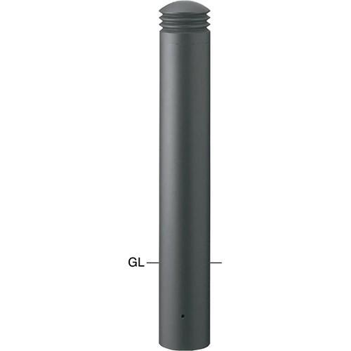 メーカー直送 サンポール ボラード φ152.5(t3.0)×H750mm カラー:ダークグレー [V-352U]