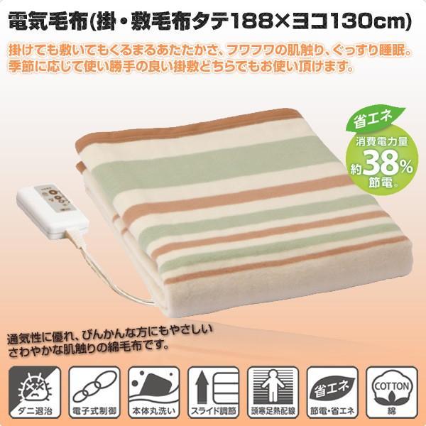 電気 毛布 ダブル サイズ