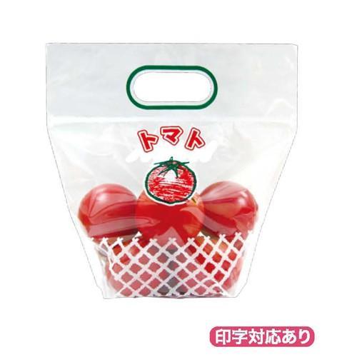 野菜袋_トマト3チャック付スタンドVシール 2000枚