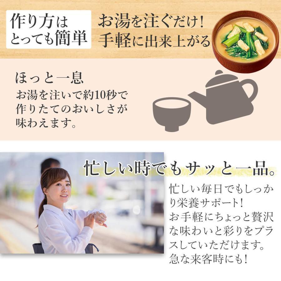 アマノフーズ フリーズドライ 味噌汁 スープ 18種から 選べる 6種30食 セット 常温保存 ご飯のお供 非常食 新生活 ホワイトデー お返し ギフト e-monhiroba 04