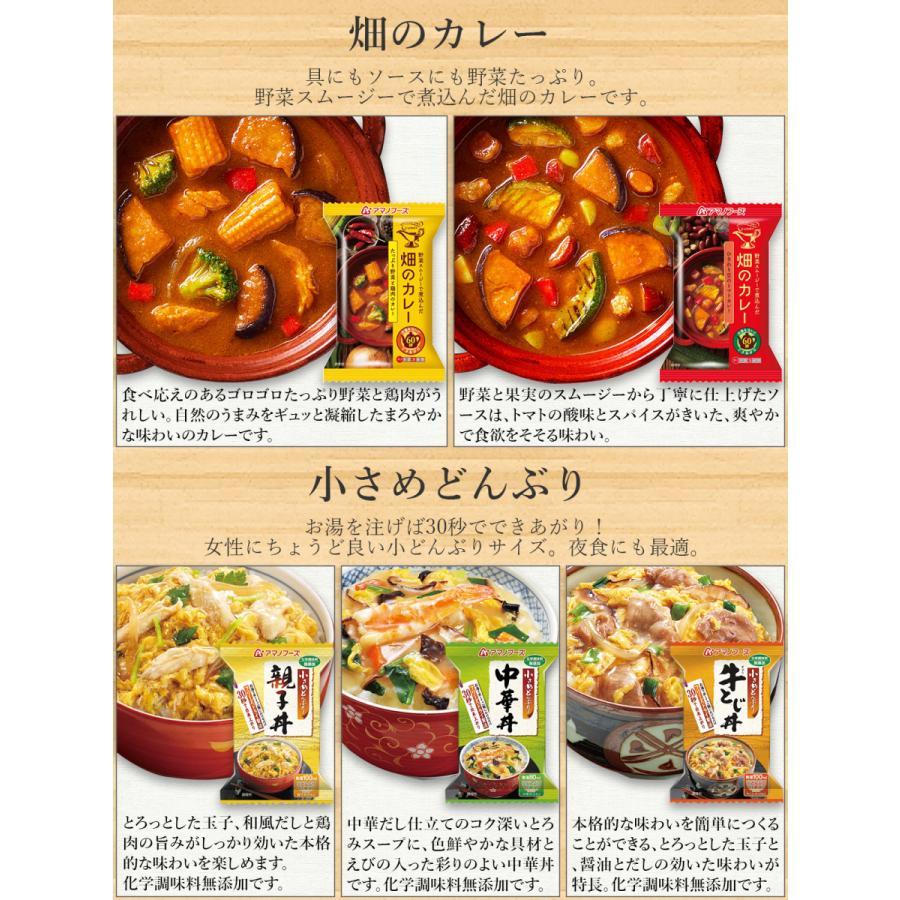 アマノフーズ フリーズドライ 丼 カレー 5種から 選べる 5種15食 セット インスタント食品 惣菜 常温保存 新生活 ホワイトデー お返し ギフト|e-monhiroba|07