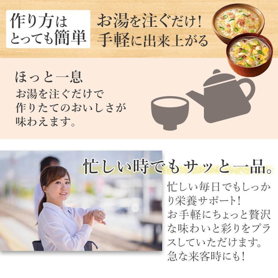 アマノフーズ フリーズドライ 雑炊 おかゆ 4種から 選べる 15食 セット インスタント食品 惣菜 常温保存 新生活 ホワイトデー お返し ギフト|e-monhiroba|04