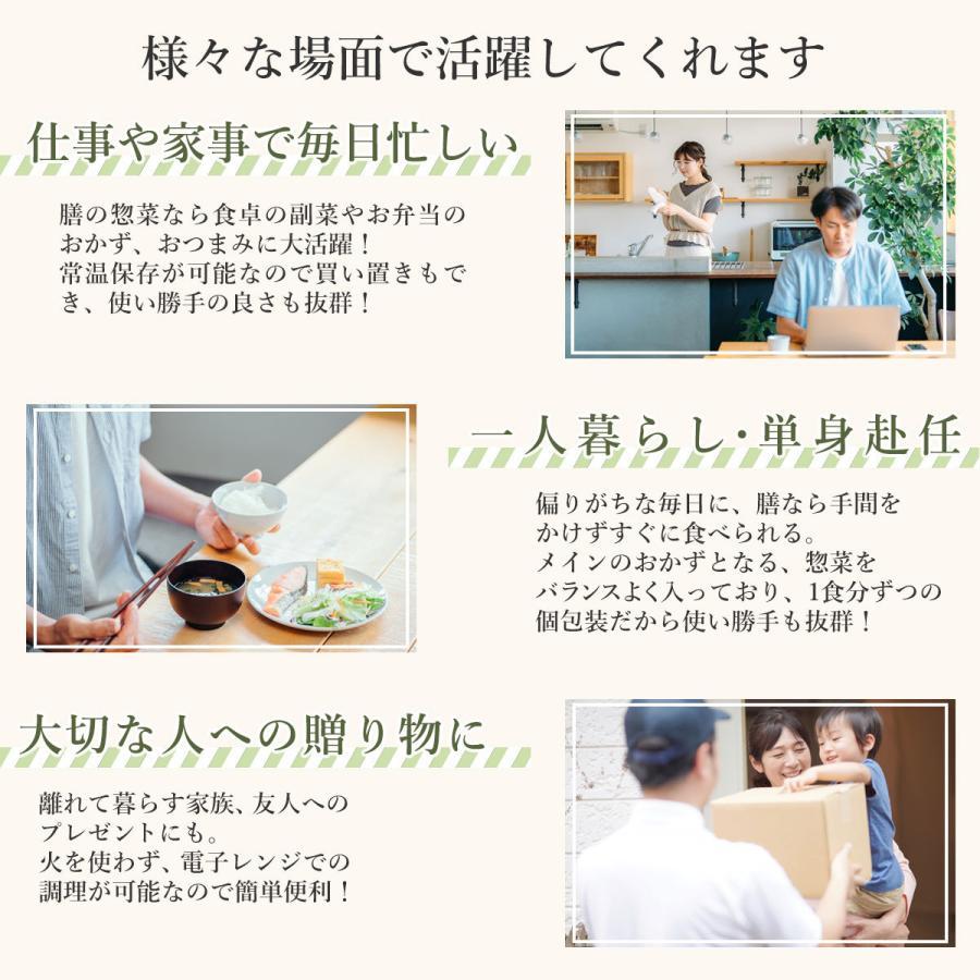 レトルト 惣菜 おかず 膳 肉 魚 野菜 13食 選べる 詰め合わせ セット レトルト食品 豪華 高級 選べるセット 節分 バレンタイン ギフト|e-monhiroba|10