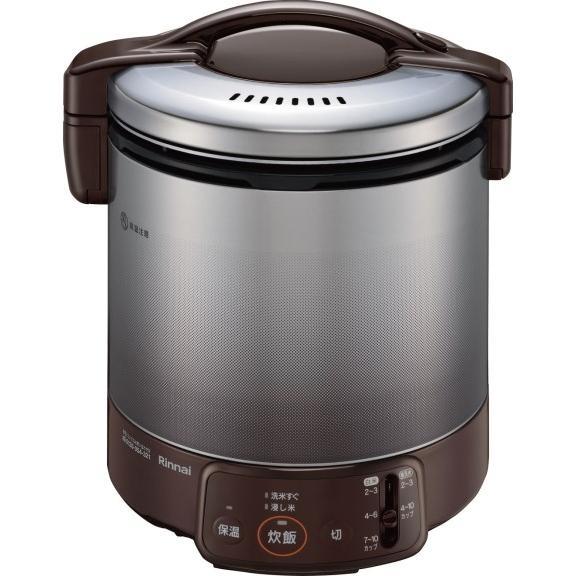 超安い リンナイ 家庭用ガス炊飯器 1升炊 ジャー付 RR-100VQ(DB), ジュエリーラピネス 7d7e7f4e