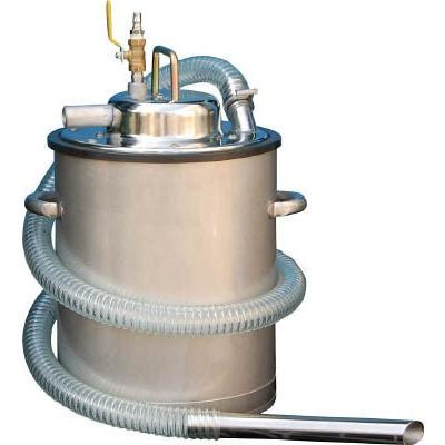 アクアシステム エア式乾湿両用ステンレス製掃除機(オープンペール缶専用)