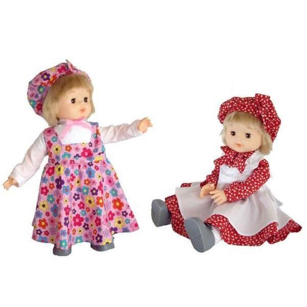モンシェリ お人形 ロングスカート ピンク・01809 代引き・同梱不可
