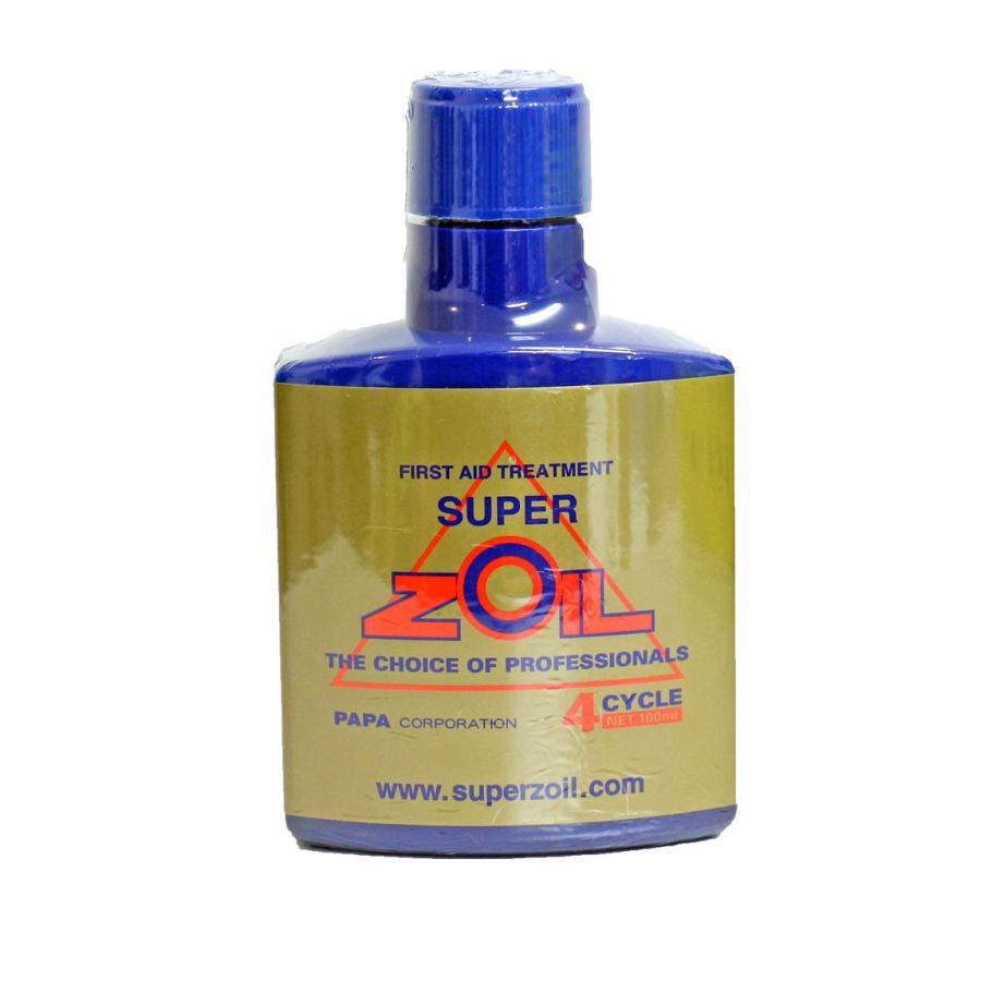 【在庫有】スーパーゾイル(ZOIL) オイル添加剤 (4スト)4サイクルエンジン用/100ml|e-net
