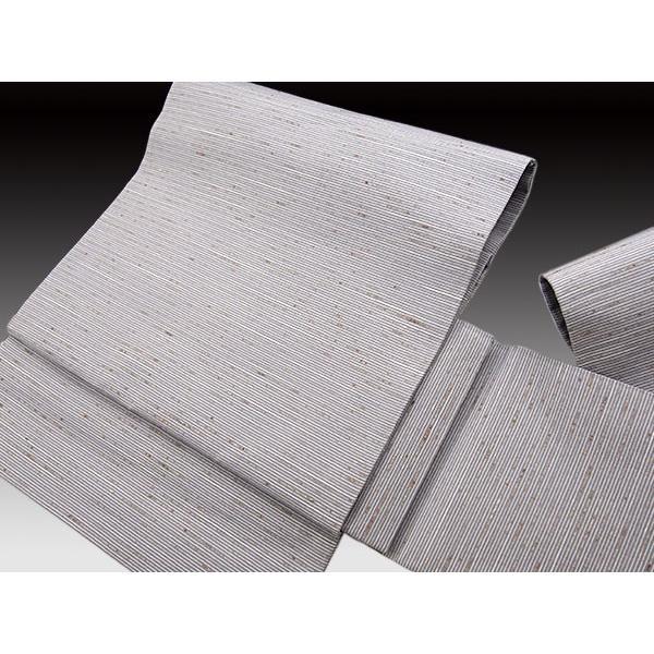 素晴らしい外見 作り帯 西陣織 ぜんまい紬 無地(単衣・袷)用 九寸 名古屋帯 [お仕立て上がり帯], 床工房 c8cf9b8b