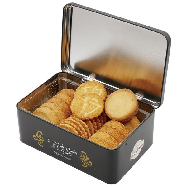 フランス お土産 ラ・トリニテーヌ 缶入りクッキー1缶