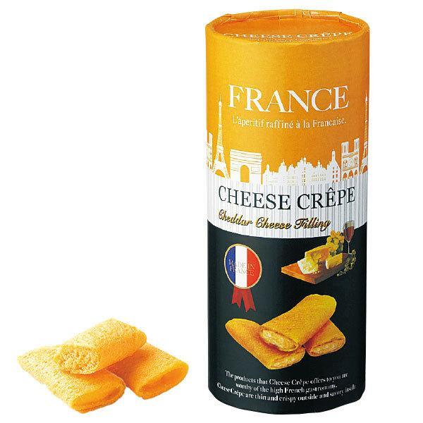 フランス チーズクレープクッキー チェダーチーズクリーム