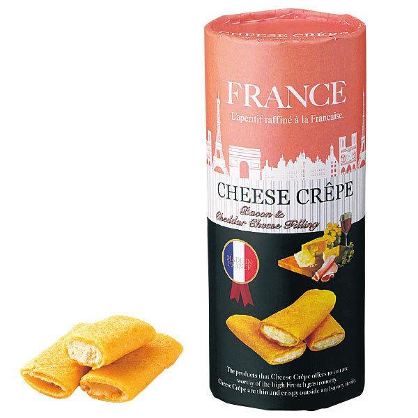 フランス チーズクレープクッキー ベーコンチーズクリーム