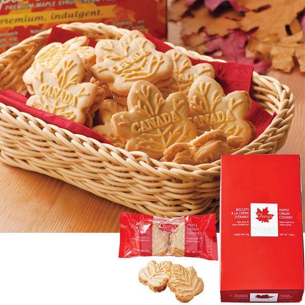 カナダ お土産 クリアリーズ メープルクリームクッキー 12袋セット