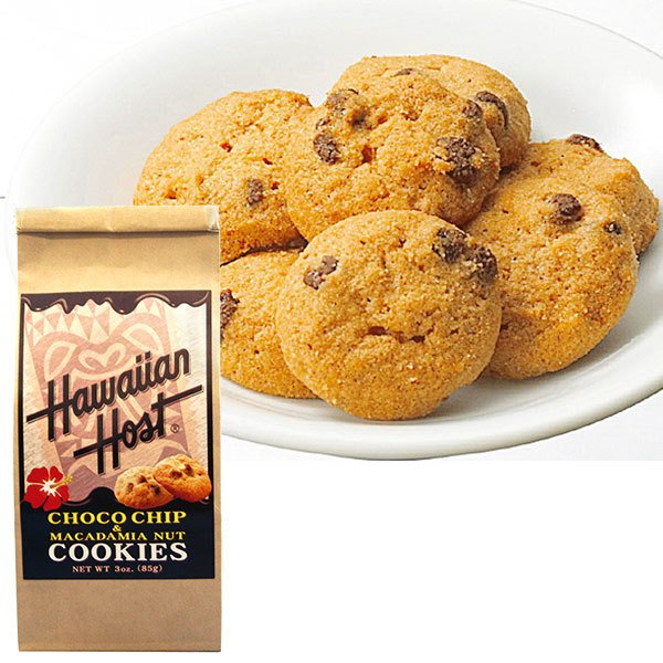 ハワイアンホースト チョコチップマカダミアナッツクッキーBAG1袋