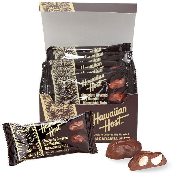 ハワイアンホースト マカダミアナッツチョコTIKIバー2粒12袋セット