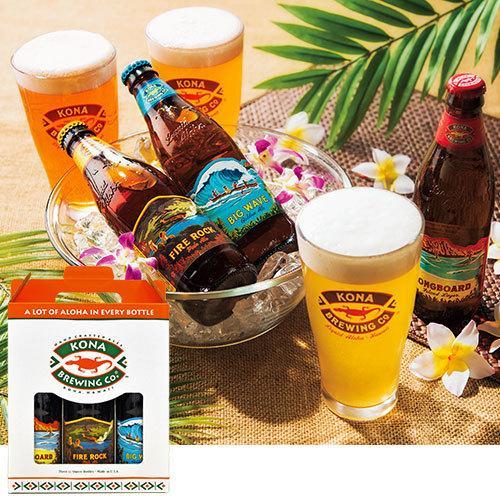 ハワイ コナビールギフト3種セット1セット(3本)