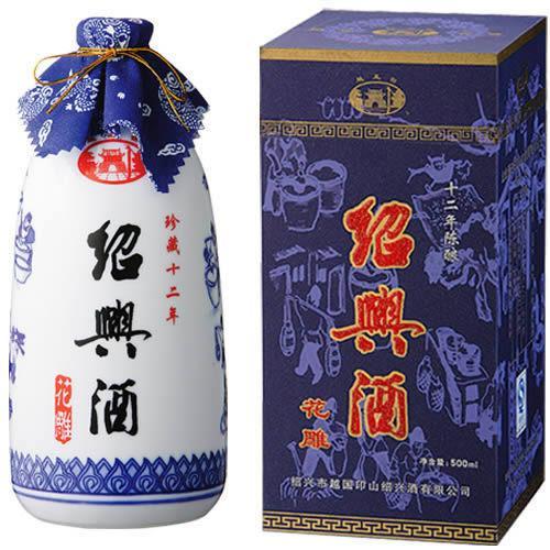 越王台 陳年白磁花彫酒12年 500ml