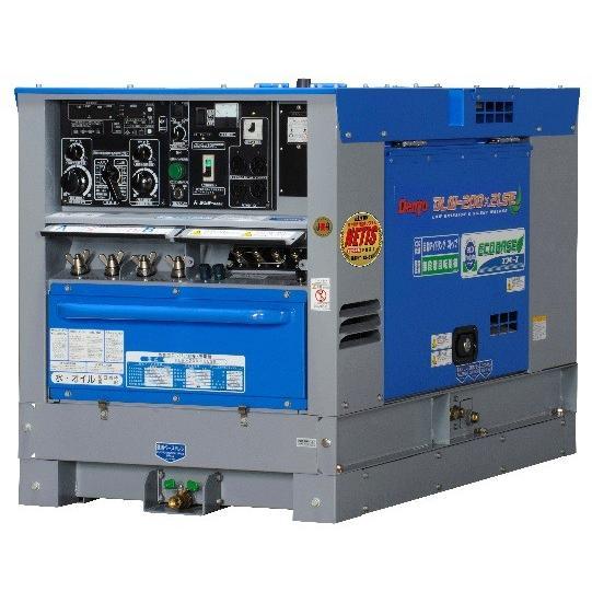 ディーゼルエンジン溶接機(エコベース・2人用) 2人(200A) DLW-200×2LSE