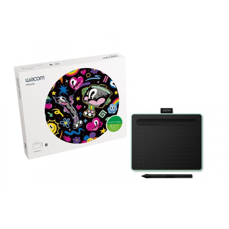 ワコムペンタブレット Wacom Intuos Small ワイヤレス ピスタチオグリーン CTL-4100WL/E0 / ワコム