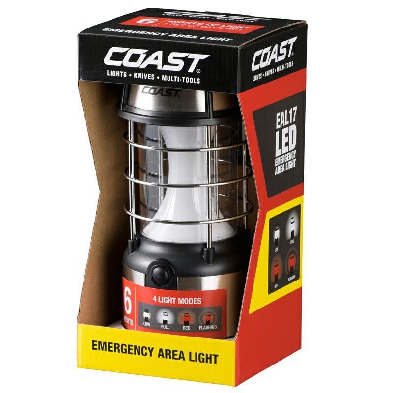 Coast LED Lantern 460 Lumens Emergency Area 4 Mode Smart Switch EAL17