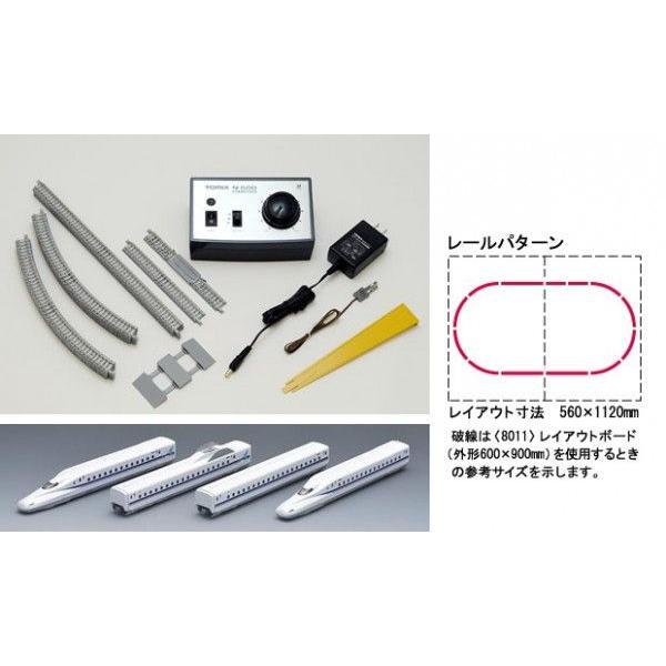 鉄道模型 TOMIX(トミックス) Nゲージ ベーシックセットSD N700-1000系(N700A)のぞみ