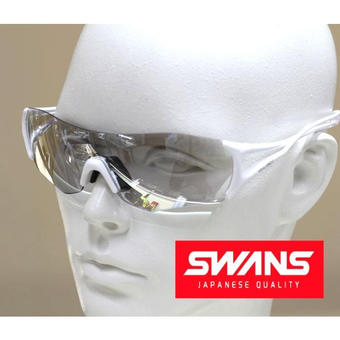 スワンズ SWANS サングラス E-NOX EIGHT8シリーズ シルバーミラーコートレンズ EN8-0712 SPW 正規品 送料無料