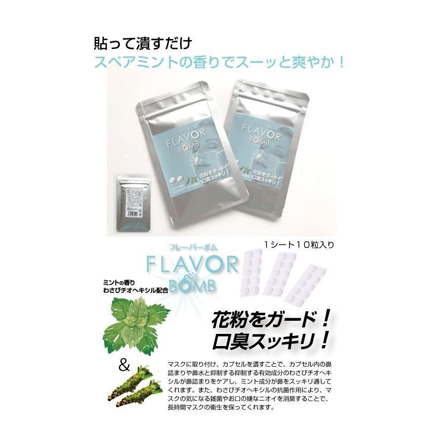 マスク用 FLAVOR BOMB フレーバーボム 1シート10粒入×2個セット 送料無料!! 選べるフレーバー・組み合わせ自由|e-shop-selection|02