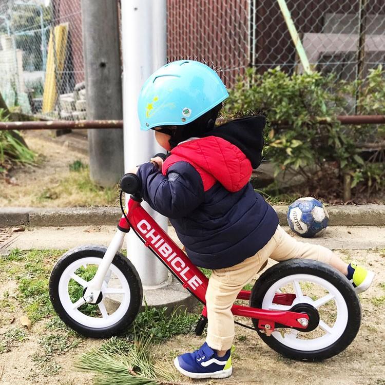 子供用ペダル無し自転車 12インチ キッズバイク 幼児用自転車 低床フレーム 12インチ CHIBICLE チビクル スタンド付き TOPONE トレーニングバイク  押し車 e-topone 03