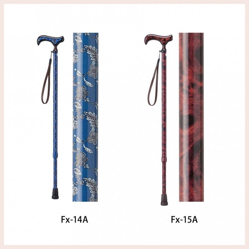 伸縮杖 伸縮型杖 SGマーク 小花柄 軽量 軽い 男女兼用 レディース メンズ 握りやすい 持ちやすい 愛杖 Fx-11A ストラップ付き ギフト ギフト プレゼント 贈り物 e-zakkaya 09