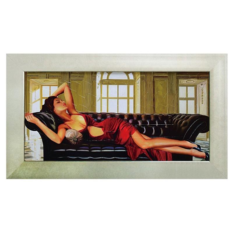 アートパネル 壁掛け インテリア アート 女性 ピエール ピエール ベンソン ディバイン