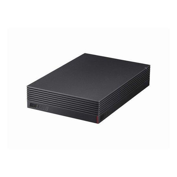 BUFFALO バッファロー 4TB 外付けハードディスクドライブ スタンダードモデル 2465703 代引不可 新品未使用 HD-NRLD4.0U3-BA ブラック 送料無料 半額