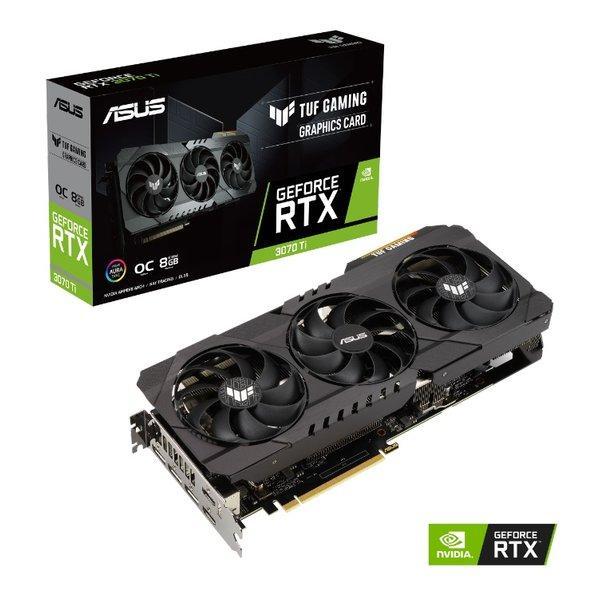 ASUS 倉庫 エイスース グラフィックボード GeForce RTX3070Ti OC 8GB 送料無料 TUF-RTX3070TI-O8G-GAMING Edition 期間限定 2511643