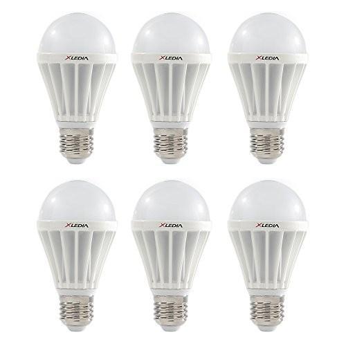 XLEDIA LED電球 広配光 100W相当 1710lm 昼白色 E26口金 密閉型器具対応 3年保証 X100N 6個入